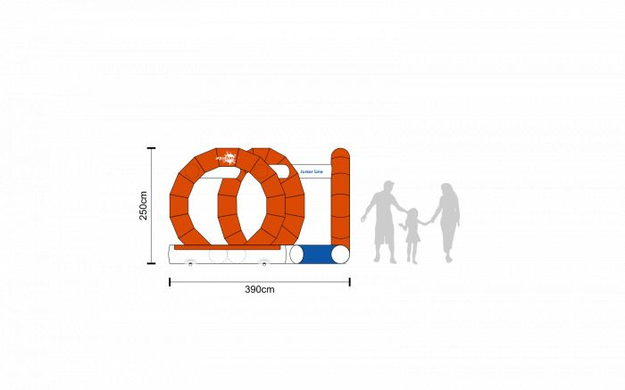aquafun Junior Line Ring Curve